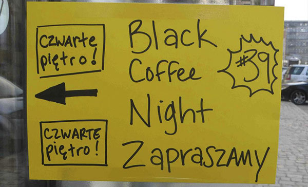 Black Coffee Night